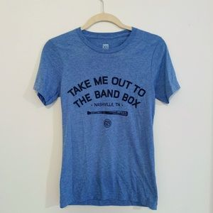 """Take Me Out to the Band Box"" Project 615 Tee"